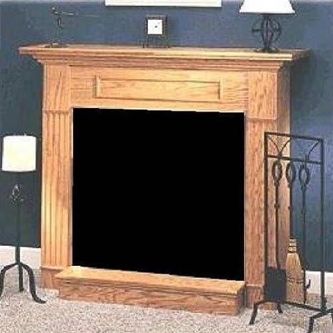 Amazon Com Majestic Oak Wood Cabinet Surround For Dfx32 Fireplace