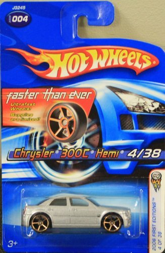 Hot Wheels 2006 First Editions Chrysler 300C Hemi 4/38, Silver
