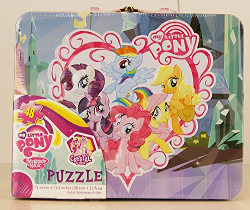 My Little Pony Tin 48 Piece Puzzle by Cardinal Eight Little Ponies