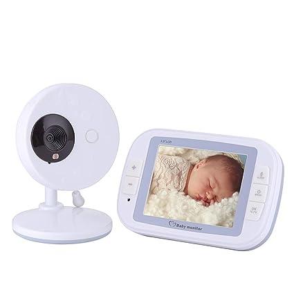 Cámara De Vigilancia Para Bebés Dispositivo Para El Cuidado Del Bebé Pantalla De 2,4