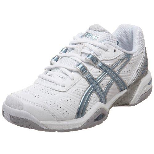 ASICS Women's GEL-Challenger 7 Tennis Shoe,White/Faded Denim/White,6 B US ()