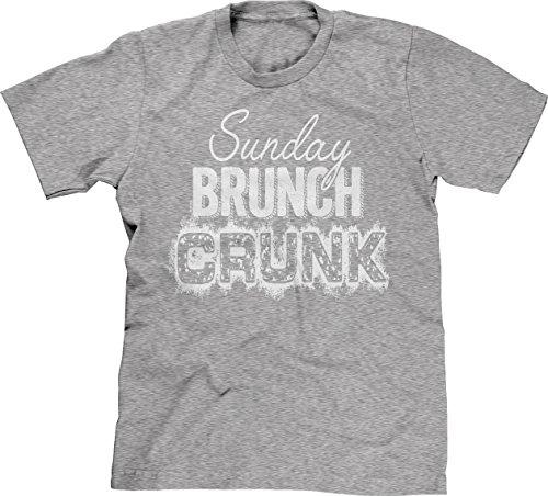 Blittzen Mens Sunday Brunch Crunk, S, Light Gray