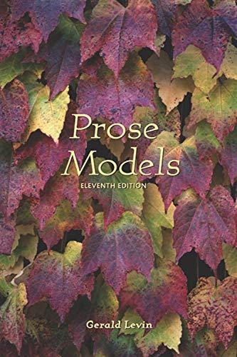 Prose Models: Amazon.es: Levin, Gerald: Libros en idiomas ...