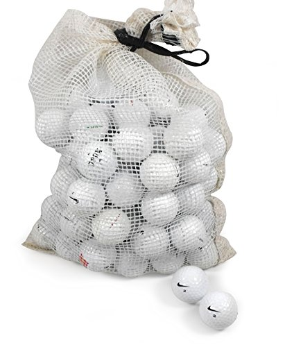 Nike Assorted Models Recycled B C Grade Golf Balls in Onion Mesh Bag 72-Piece