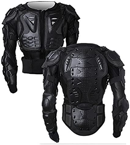 Veste de Protection Moto,Veste Armure Moto Blouson Motard Gilet Protection /Équipement de Moto Cross Scooter VTT Enduro Homme ou Femme