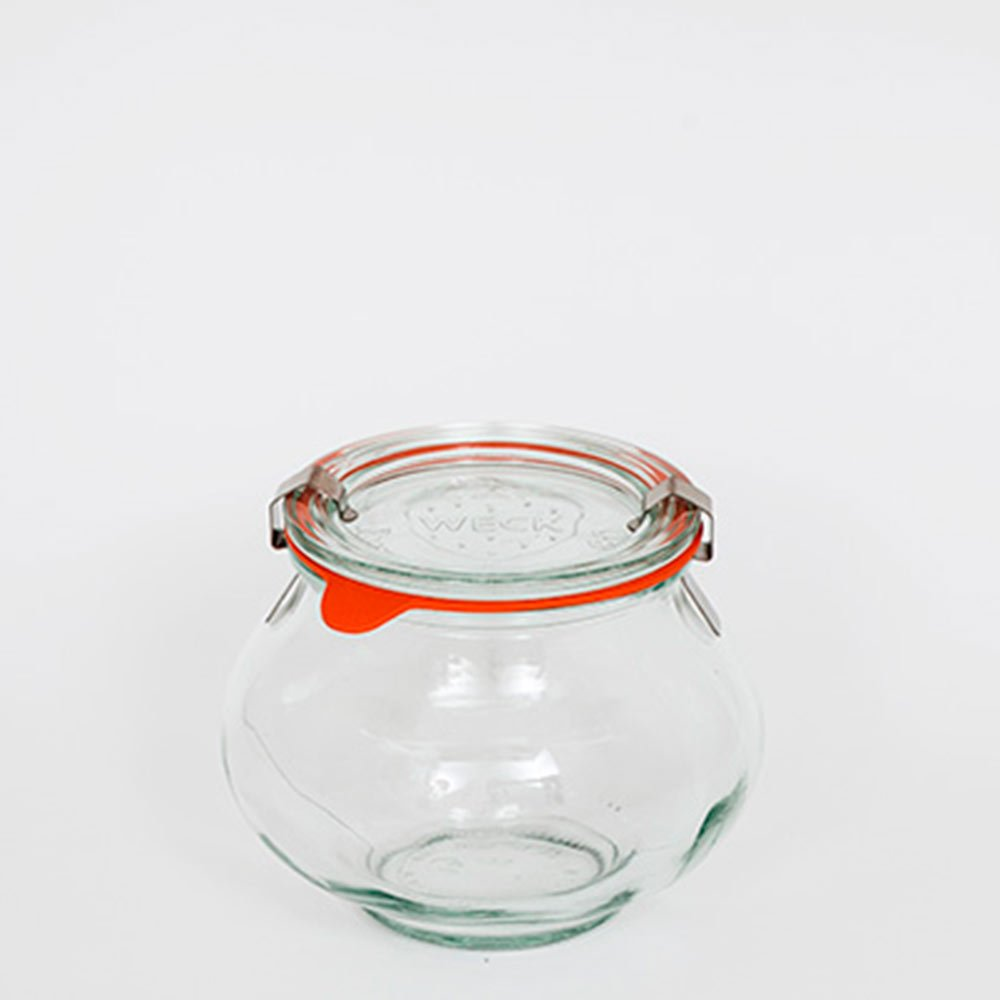 Weck 901 Deco Jar 1/2 L Case of 6