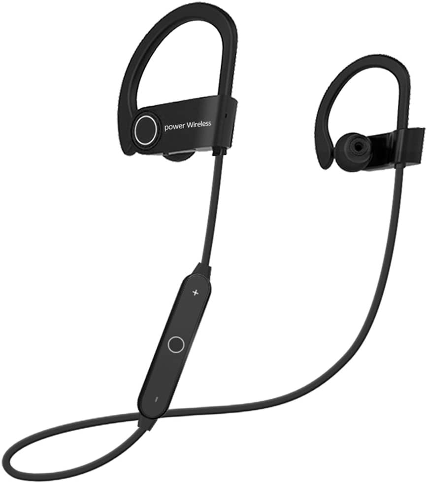 RRadient Wireless Bluetooth Headphones Wireless SoundBuds Bluetooth 4.2 Sports Earphones + EDR, 120 Hours Stand-by, 3 to 5 Hours Calculating, Noise Cancellation, Workout Earbuds