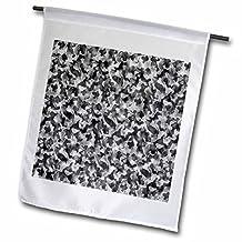 Rewards4life Gifts - Silver Camouflage - 18 x 27 inch Garden Flag (fl_41110_2)