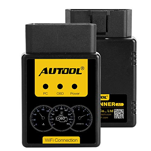 Autool A1 OBDII Codeleser Selbstdiagnosewerkzeug Engine Fault Scanner mit WiFi Connect