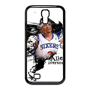 Custom Allen Iverson and Signature Pattern Phone Case For SamSung Galaxy S4 Case RVNLI_W457715