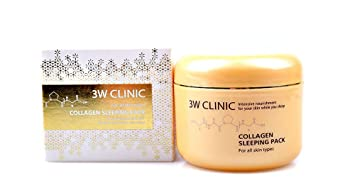Image result for 3w clinic collagen sleeping pack