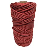 SGT KNOTS MilSpec Mil-C-5040H Type III (7 Inner Strands - 600 LB) or Type IV (11 Inner Strands - 800 LB) Paracord on 200ft, 100ft – Several Colors (T3 Red 200ft)