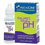 Pack of 3 x AlkaZone Alkaline Booster Drops with Antioxidant - 1.2 fl oz