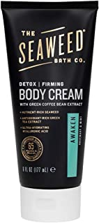 product image for The Seaweed Bath Co. Detox Cellulite Cream/Firming Detox Cream, Awaken Scent, Rosemary & Mint, 6 oz. (Packaging May Vary)