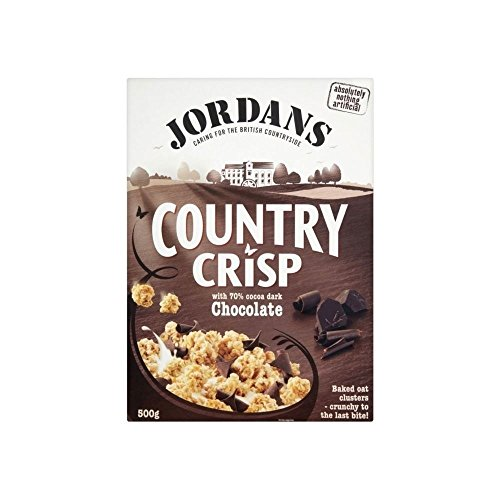 Jordans Country Crisp with 70% Cocoa Dark Chocolate (500g) (500g Cake Chocolate)