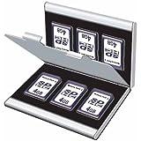 Digio2 SDメモリーカードケース ダブルタイプ(丈夫なアルミ素材) シルバー MCC-1100SL