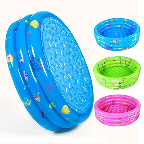 Decdeal Portable Inflatable Kids Swimming Pool Only $19.99
