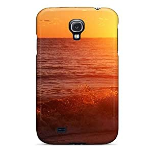 Excellent Galaxy S4 Case Tpu Cover Back Skin Protector Pacific Sunset Pismo Beach California