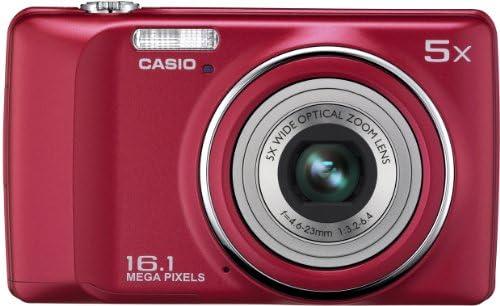 Casio QVR300RD - Cámara réflex digital de 16.1 Mp (pantalla de 2.7 ...