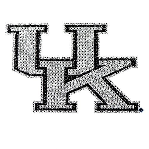 - University of Kentucky Wildcats College NCAA Sports Team Collegiate Logo Car Truck SUV Motorcycle Trunk 3D Bling Gem Crystals Chrome Emblem Adhesive Decal