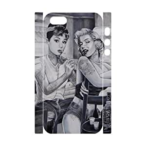 Audrey Hepburn Pattern Customized 3D Case for Iphone 6 plus, 3D New Printed Audrey Hepburn Pattern Case