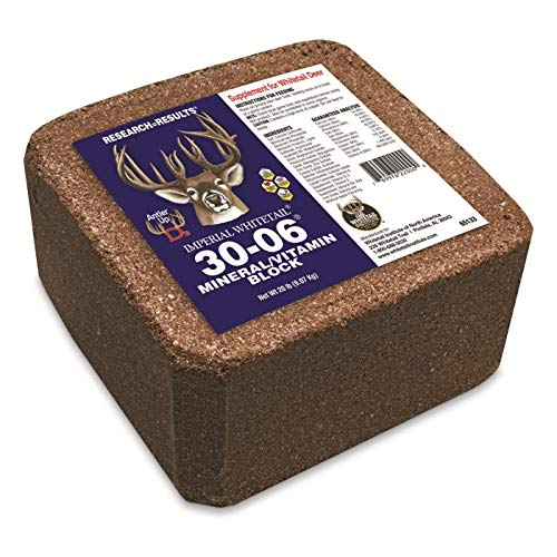 (Whitetail Institute Imperial 30-06 20-lb. Mineral Block)