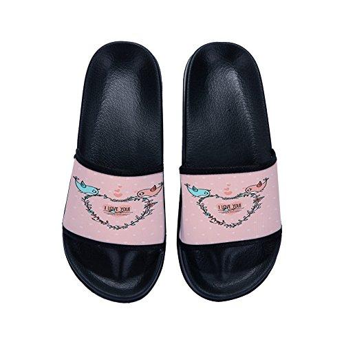 EU Mujer Irma00Eve por Negro 39 Estar Zapatillas Color casa para de Talla ZwYZqrP