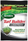 Scotts Turf Builder Lawn Food - Lawn Food with Moss Control Fertilizer, 10,000-Sq Ft
