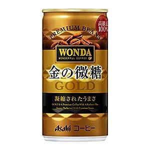 ワンダ 金の微糖 185g×30本