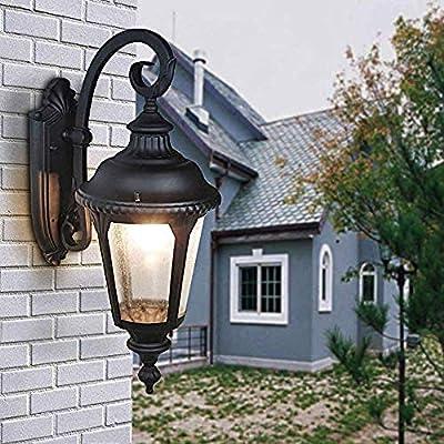 Tradicional E27 Jardín Luz de pared para exteriores Impermeable ...