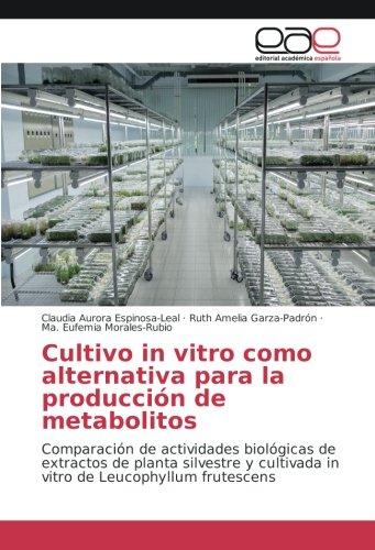 Cultivo in vitro como alternativa para la producción de met