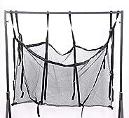 Large-Capacity Mesh Net Storage Bag, Adjustable Hanging Swimming Pool Playground Organizer Bag