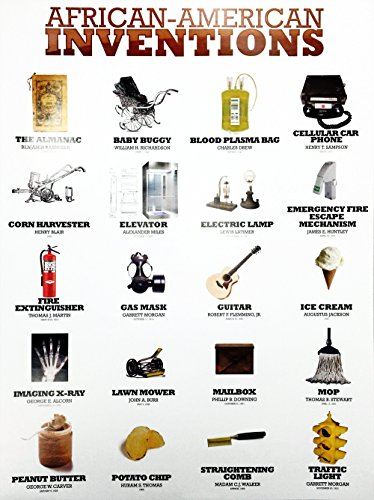(777 Tri-Seven Entertainment African American Inventors Poster Black History Famous People Inventions)