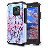 S7 Active Case, Galaxy S7 Active Case, NageBee - Premium Design Heavy Duty Defender Dual Layer Protector Hybrid Case for Samsung Galaxy S7 Active (Hybrid Pink Plum)