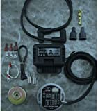 51iaxx2QuUL._AC_UL160_SR160160_ amazon com ultima complete wiring harness kit for harley davidson harley davidson wiring harness kit at fashall.co