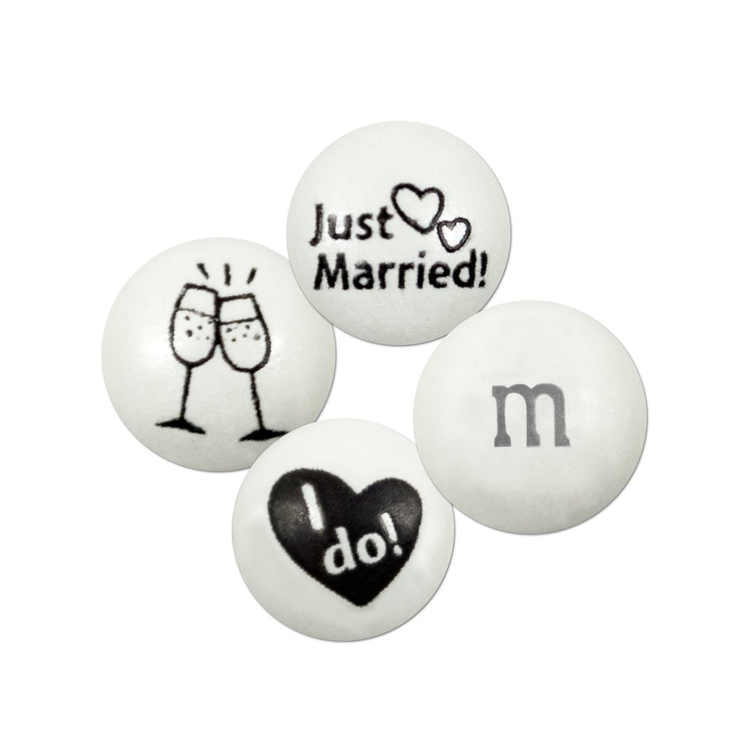 Wedding Candy M&Ms Blend 2lb