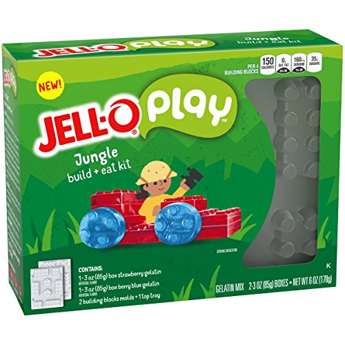 Price comparison product image JELL-O Play Build + Eat Jungle Kit,  6 oz