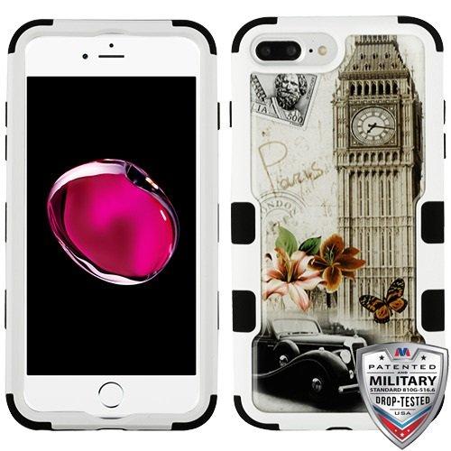 iPhone 6 Plus/6s Plus/7 Plus/8 Plus Case, Mybat Tuff 3 PC/TPU Rubber Case Cover for Apple iPhone 6 Plus/6s Plus/7 Plus/8 Plus, Multi-Color