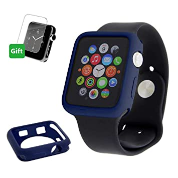 Mihutu Apple Watch Funda, iWatch Color Caramelo TPU Suave ...