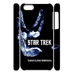 LSQDIY(R) Star Trek Into Darkness iPhone 5C 3D Case, Custom iPhone 5C 3D Phone Case Star Trek Into Darkness