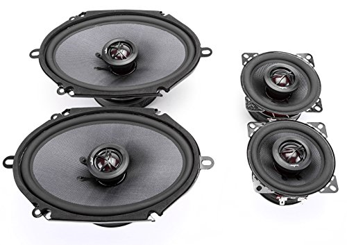 (1983-1985 Ford Bronco II Elite Series Complete Vehicle Speaker Package Upgrade by Skar Audio)