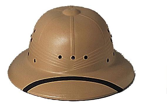 Military Type Pith Helmet Safari Sun Hat Adult Waterproof 1 Size Fits at  Amazon Men s Clothing store  81cd66b0d1c