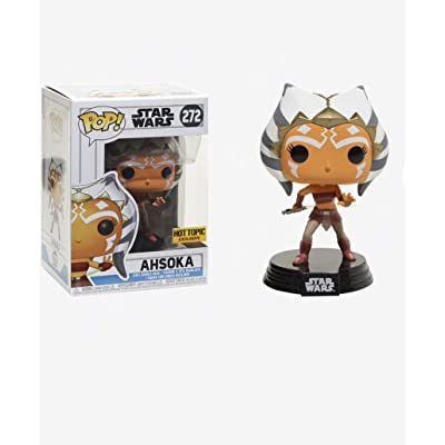 Funko Pop! Star Wars Ahsoka #272 (Action Pose) Hot topic Exclusive : Toys & Games