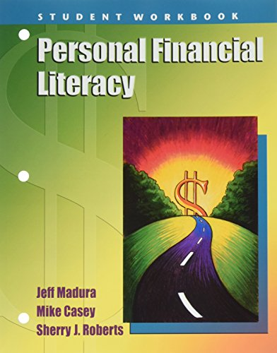 Personal Financial Literacy Workbook for Personal Financial Literacy