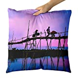 Westlake Art - Organization Reflection - Decorative Throw Pillow Cushion - Picture Photography Artwork Home Decor Living Room - 18x18 Inch (D179-38CFD)