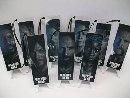 WALKING DEAD Bookmark Set of 9 Collectible Memorabilia complements poster comic book