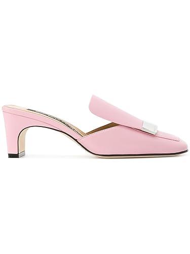 Talons Sergio Cuir Chaussures À Rose Rossi Femme A78000mnan075850 xW06Pw64Bq