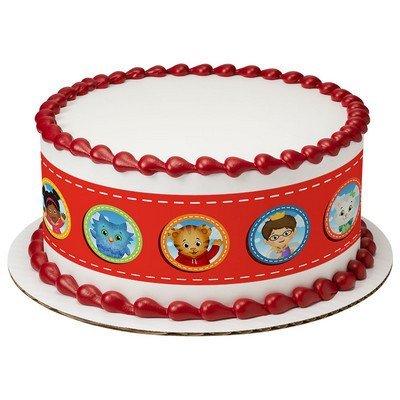 Daniel Tiger's Neighborhood Cake Strips Licensed Edible Cake Topper #7513 ()