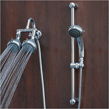 Polaris 2 Multi Head Shower System, Chrome