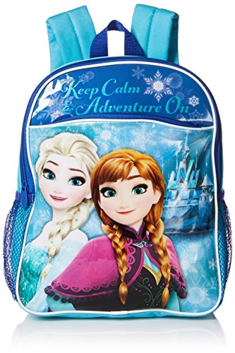 Disney Toddler Girls Frozen Keep Calm and Adventure On Toddler Backpack